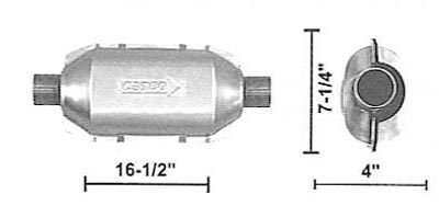 ALL UNIVERSAL CONVERTER UNIVERSAL CONVERTER Wholesale Catalytic Converters