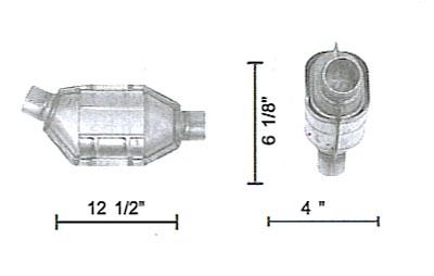 LEV AND CLEANER EMISSION PLATFORMS UNIVERSAL CONVERTER UNIVERSAL CONVERTER Wholesale Catalytic Converters