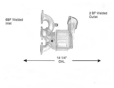 2006 2008 Gmc Canyon 3 5l 3 7l Serpentine Belt Diagrams in addition Exhausts And Exhaust Parts moreover Jeep Four Cylinder Engine together with Converter detail in addition Nissan Frontier Oil Drain Plug Location. on mitsubishi catalytic converter