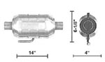 6504 Catalytic Converters Detail
